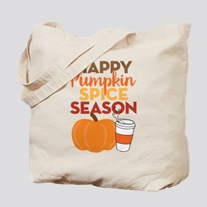 Pumpkin Spice Season Tote Bag