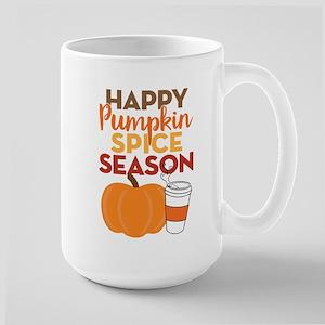 Pumpkin Spice Season Large Mug