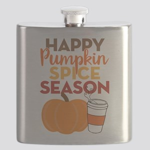 Pumpkin Spice Season Flask