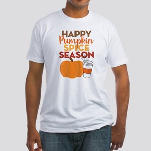 Pumpkin Spice Season Fitted T-Shirt