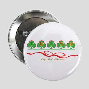 "Merry Irish Christmas II 2.25"" Button"