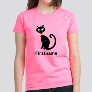 Black Cat (p) T-Shirt