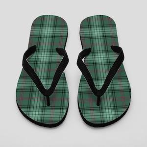Tartan - Ross hunting Flip Flops