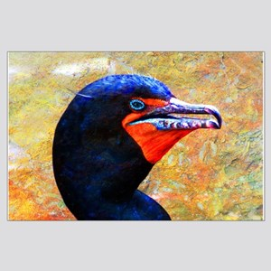 Cormorant texture Posters