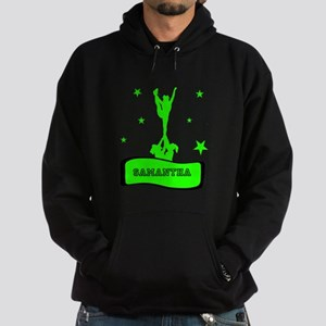 Green Cheerleader Hoodie