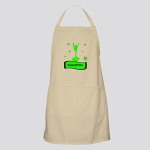 Green Cheerleader Apron
