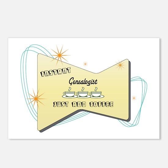 Instant Genealogist Postcards (Package of 8)