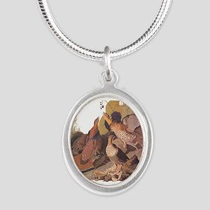 Ruffed Grouse Vintage Audubon Art Necklaces