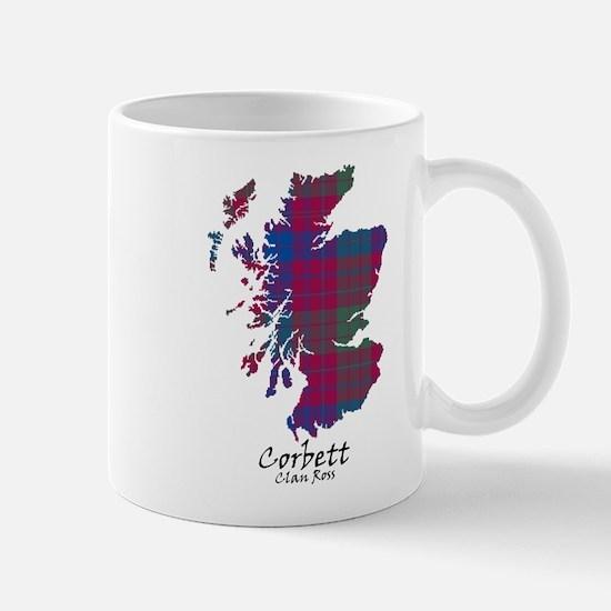 Map - Corbett.Ross Mug