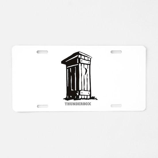 THUNDERBOX - DUNNY. Aluminum License Plate