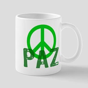 PAZ Peace en Espanol Mug