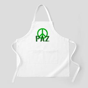 PAZ Peace en Espanol BBQ Apron