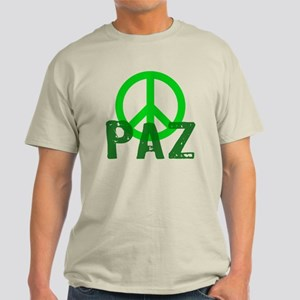 PAZ Peace en Espanol Light T-Shirt