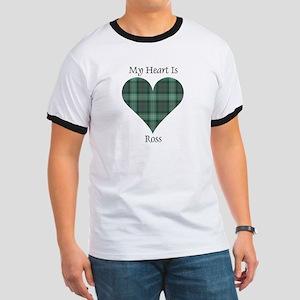 Heart - Ross hunting Ringer T