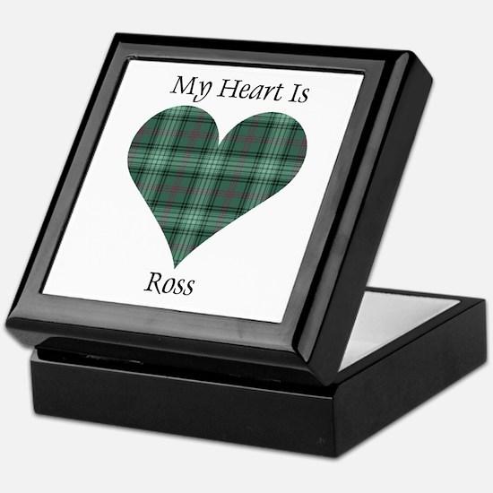 Heart - Ross hunting Keepsake Box
