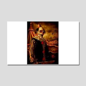 Scary Circus Clown Car Magnet 20 x 12