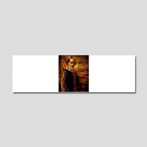 Scary Circus Clown Car Magnet 10 x 3