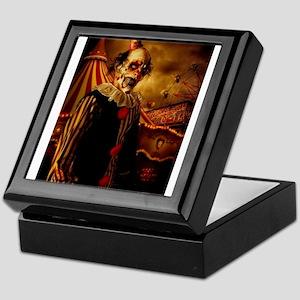 Scary Circus Clown Keepsake Box