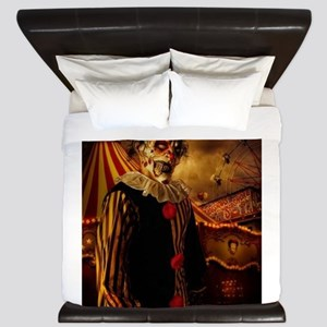 Scary Circus Clown King Duvet