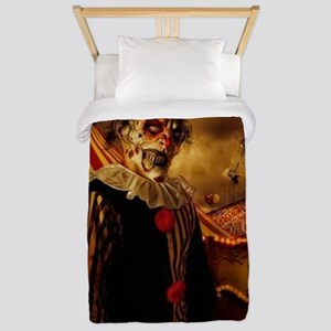 Scary Circus Clown Twin Duvet