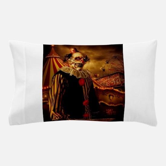 Scary Circus Clown Pillow Case
