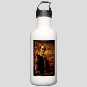 Scary Circus Clown Water Bottle