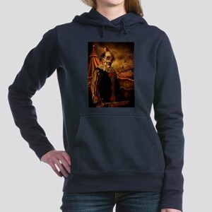 Scary Circus Clown Women's Hooded Sweatshirt