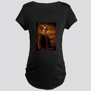 Scary Circus Clown Maternity T-Shirt