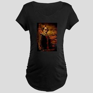 Scary Circus Clown Maternity T-Shirt