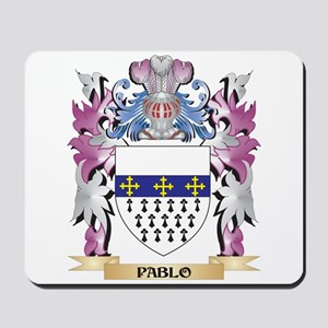 Pablo Coat of Arms - Family Crest Mousepad