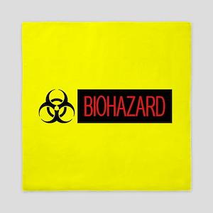 HAZMAT: Biohazard (Red, Black & Yellow Queen Duvet