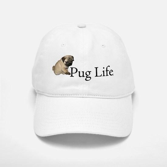 Puppy Pug Life Baseball Baseball Cap