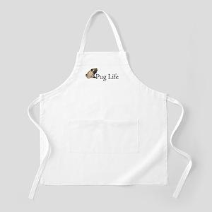 Puppy Pug Life BBQ Apron