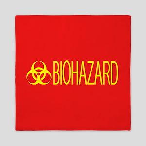 HAZMAT: Biohazard (Red & Yellow) Queen Duvet