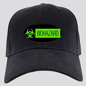 HAZMAT: Biohazard (Slime Green & Black) Black Cap