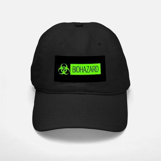 HAZMAT: Biohazard (Slime Green & Black) Baseball Hat