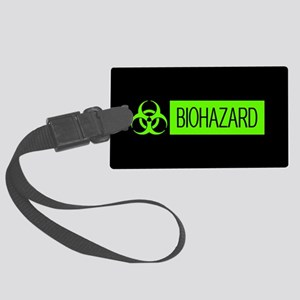 HAZMAT: Biohazard (Slime Green & Large Luggage Tag