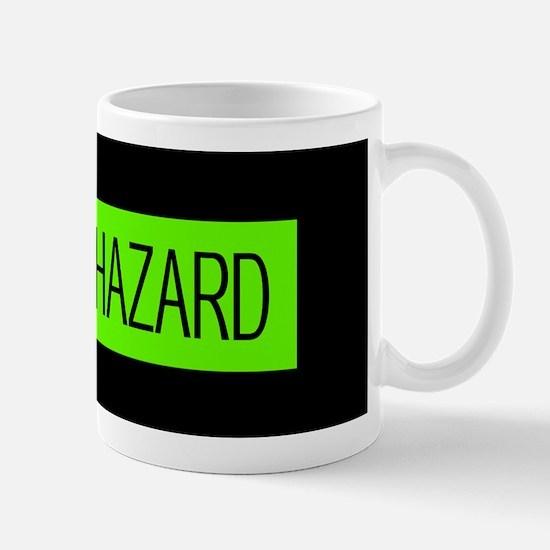 HAZMAT: Biohazard (Slime Green & Black) Mug