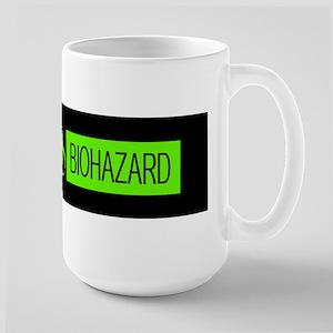 HAZMAT: Biohazard (Slime Green & Black) Large Mug