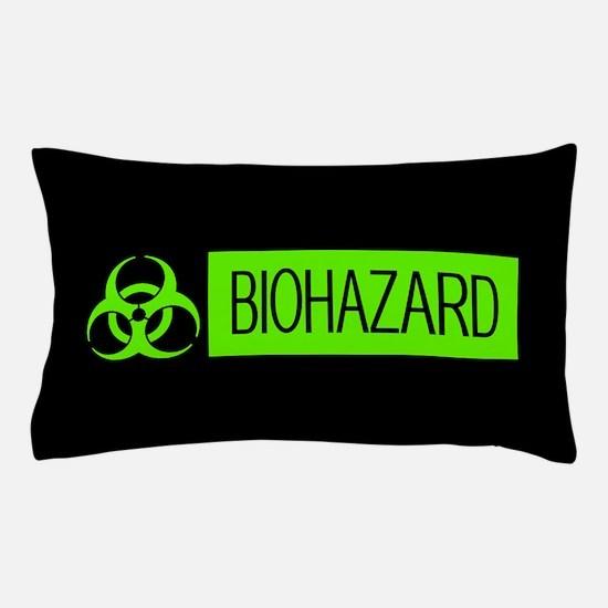 HAZMAT: Biohazard (Slime Green & Black Pillow Case