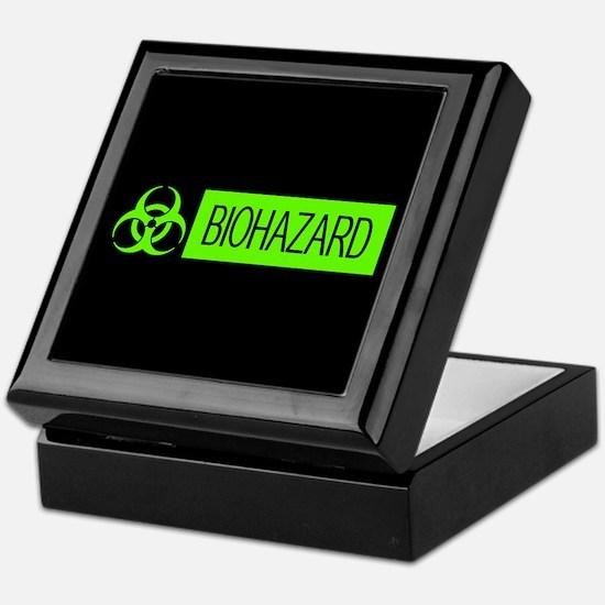 HAZMAT: Biohazard (Slime Green & Blac Keepsake Box