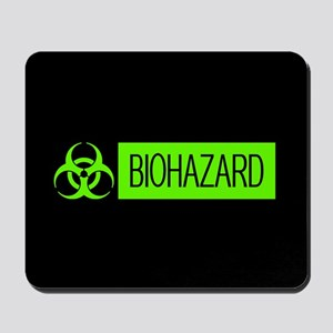 HAZMAT: Biohazard (Slime Green & Black) Mousepad