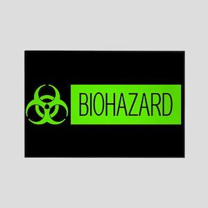 HAZMAT: Biohazard (Slime Green & Rectangle Magnet