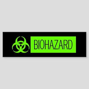HAZMAT: Biohazard (Slime Green & Sticker (Bumper)