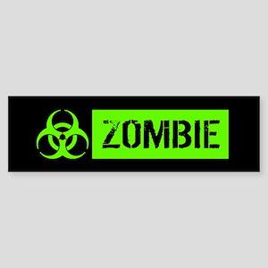 Zombie: Biohazard (Slime Green) Bumper Sticker