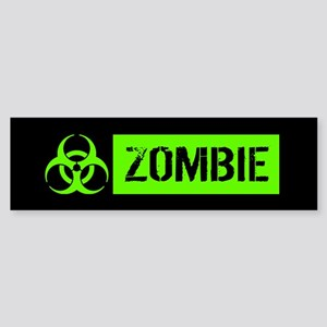 Zombie: Biohazard (Slime Green) Bumper Sticker