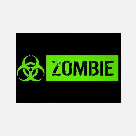 Zombie: Biohazard (Slime Green) Magnets