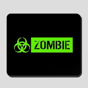 Zombie: Biohazard (Slime Green) Mousepad
