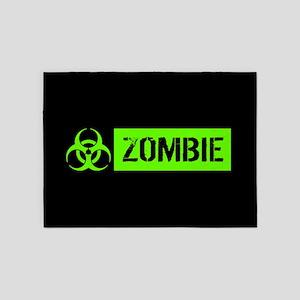 Zombie: Biohazard (Slime Green) 5'x7'Area Rug