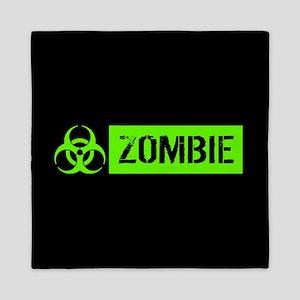 Zombie: Biohazard (Slime Green) Queen Duvet